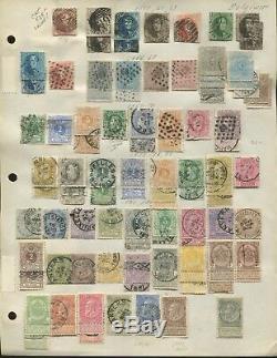 1851-1940 Belgique Collection De Timbres-poste Neufs Et D'occasion Valeur Des Pages De L'album: 1 900 $