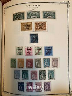 1853-1965 Collection Complète De Portugal Et Colonies Dans Un Album Spécialisé Chargé