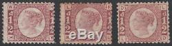 1870 Sg48 1 / 2d Rose Rouge Non Utilisé Réglage Collection Plaque Sur Page Album (pas De Plaque 9)