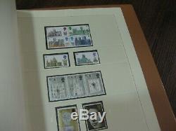 1952-1970 Ensembles Définitifs Plain & Phos Sûr Album De Collection Stamp