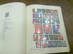 1953-1970 Plain & Phosphore Commemorative & Defin Stamp Collection Album Windsor