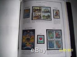 1970 -2001 Nous Stamp Monnaie Commémorative Collection Scott Album Showgard Gendarmerie