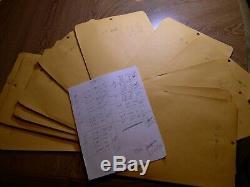 1980 Évoquant Les Années 1930 De Sheets 1378 $ Valeur Nominale Très Peu De Doublons De La Collection De L'album