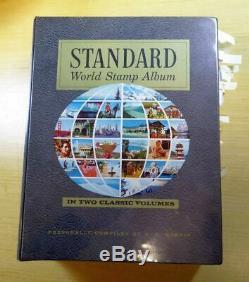 2800+ 1840.-1970 Dans Le Monde Entier Timbre Collection Harris Standard Album Pays M-z