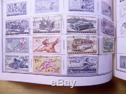 2900 + Collection De Timbres Dans Le Monde 1840.-1970 Harris Standard Album Pays A-m