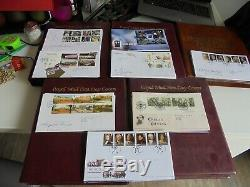367 First Day Covers Large Collection 5 Albums