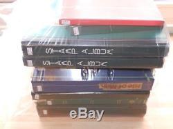 (3835a) GB Et Commonwealth Collection M & U En 9 Albums De Stock + Album + Pages