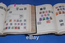 4 Volume 1840-1959 Scott International Blue Stamp Album De Collection A-z Nice