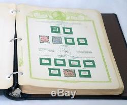 400+ Allemagne Collection De Timbres-poste De Deutsches Reich Sur Un Album Pages Incomplet