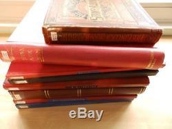 (4145) GB Collection De Timbres En 6 Albums De Stock + 2 Albums