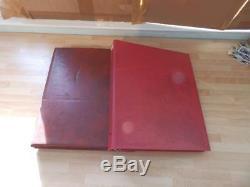 (4166) Grande Collection De Livrets De Timbres De Codes À Barres Gb. V £ 1089 Dans 2 Albums 1987-2001