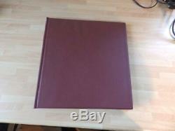 (4304) Collection De Timbres D'allemagne M Et Utilisée Dans L'album Lindner 1949-1958