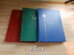 (4457) GB Collection En 3 Albums De Stock Qv Onward M / M, & Utilisé