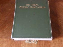 (4645) World Collection 1915 Penny Noir Etc Dans Sg Ideal Album 4100+ Timbres