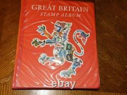 (5114) GB Stamp Collection Qv Onward In Sg Album