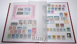 600+ Moyen-orient Jordanie Bahreïn Dubai Emirats Arabes Unis Timbre-poste Collection Album