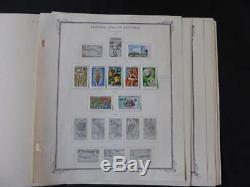 Afrique Centrale 1959-1967 Mint Stamp Collection Sur Scott Specialty Album Pages