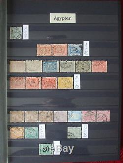 Ägypten Sammlung Inkl. Besetzung Palästina Egypte Album Collection