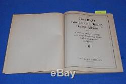 Album De Timbres De Réception Radio Vintage Ekko Broadcasting Station Chicago