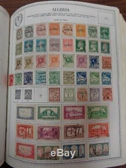 Album De Timbres Minkus Global, Collection 5 Volumes Avec 22 000 + Diff. Timbres Début-1980 Clean