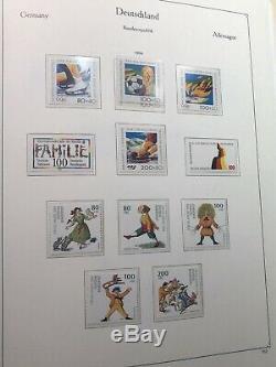 Allemagne / Bdr (rfa) 1952-1994 Collection Utilisée / Mnh 1 Kabe Album CV + 3300 Euros