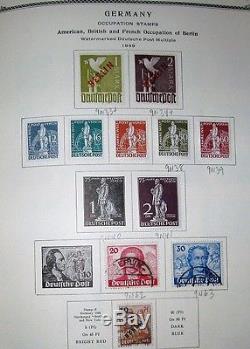 Allemagne Collection 18681979, Scott Album Spécialisé Nh Et Articulé, Scott 11 783 $