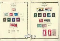 Allemagne Ddr Stamp Collection 1970-1985 Dans Scott Specialty Album, Dkz