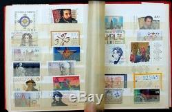 Allemagne Old Stamp Collection Lot De 227 Mnh En Vintage Stock Allemand Livre Album