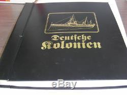 Allemands, Colonies Collection De Timbres Dans Un Album Merveilleux Spécialisé