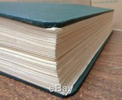 Ancien Album Scott Us National Collection De Timbres Avec Des Pages De Recettes 1847-1977