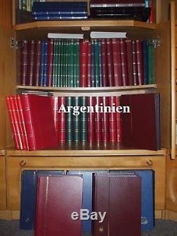 Argentine Sammlung Amérique Du Sud Argentine Album Collection 1230 Diff Timbres