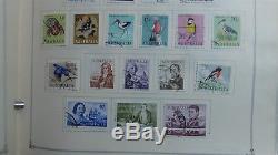 Australie Collection De Timbres Dans Scott Int'l Album'34 2008 Avec Est 2k