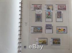 Austria Lovely Collection Mnh 1996 2001 In Safe Hingeless Album CV 500 $ Et +
