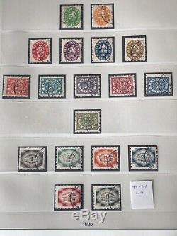 Bayern / Bavaria 1849/1920 Collection Dans L'album De Lindner Rouge CV + 9800 Euros