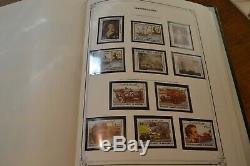 Bel Album Collection Yvert Madagascar Haute Volta Mauritanie Cote 750