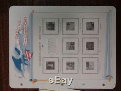 Blanc Ace États-unis 1997-2002 Spécialisés Timbre Commémoratif Pages Collection Album Nouveau