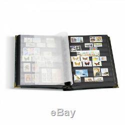 Bleu Stockbook Confort Din A4 Leuchtturm 341941 Stamp Collection Stamp Album