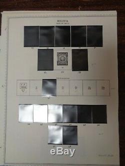 Bolivie Minkus Spécialité Scott Collection International Album De Timbres 1863-2011