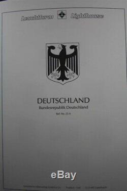 Brd Deutschland Allemagne Mh Mnh 1949-2000 Collection De Timbres De 2 Albums Du Phare