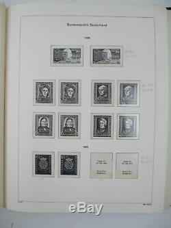 Brd Sammlung 1949-1996 IM Kabe Bi-collect Vordruckalbum # Lt245