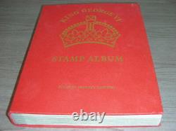British Colonies, Superb Stamp Collection Charnière Dans Un Album De King George VI Par Sg