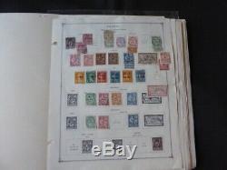 Bureaux Français Et Colonies Stamp Collection Classics Sur L'album Scott Intl Pages
