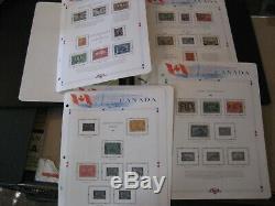Canada Carton De Collectionner Please 1851-2000 2 Albums + 5 Stock Livres