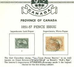 Canada Collection 1851 1975 En Minkus Scott Cat Spécialisé Album 3,400.00 $ +