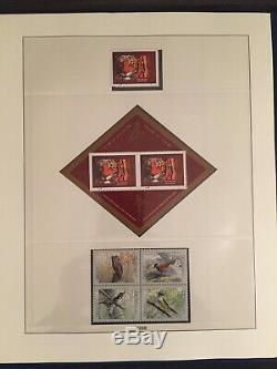Canada Complete Collection Timbres Timbres Neufs Dans L'album Illustré Lindner Sans Charnière