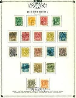 Canada Et Terre-neuve Collection 1870 À 1970 En Minkus Spécialisé Album
