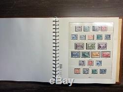Canada Monnaie / Collection De Timbres Usagés 1851-1979 Lindner CV Sans Charnière Album 1400 $