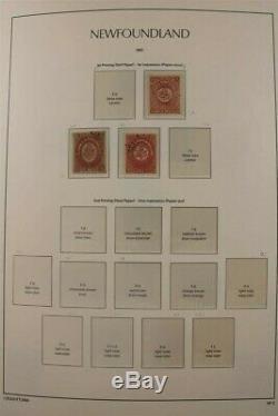 Canada Provinces À 2010/5 Luxus 470+ Pages Album Jubilee Set Collection De Timbres
