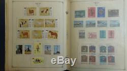 Chine Collection De Timbres En République Populaire De Chine Album Scott Int'l Avec 1.330 Ou Si Timbres Bon Menthe