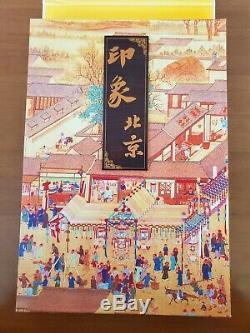 Chine Soie Stamp Album De Impression Pékin Mint Collection De Timbres